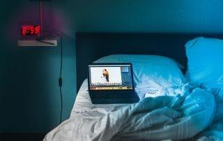 schlafen ohne Elektrosmog